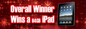 Over Winner Wins a 64gb iPad!
