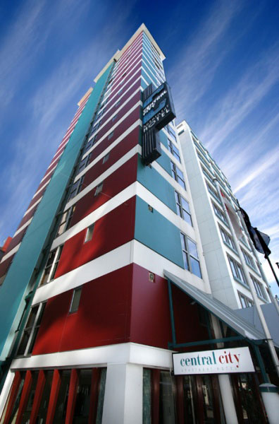 Central City Hotel Accommodation Wellington Nz