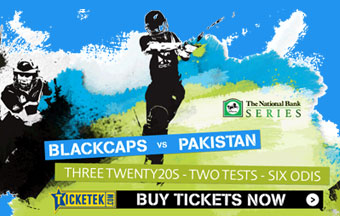 New Zealand BLACKCAPS v Pakistan, Wellington