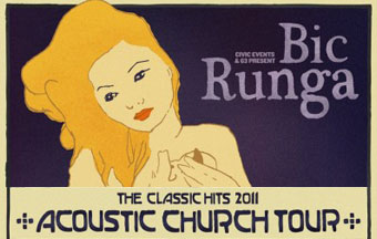 Bic Runga Classic Hits Acoustic Church Tour