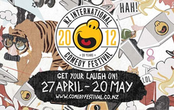 2012 New Zealand International Comedy Festival Wellington