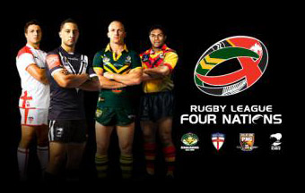 Rugby League Four Nations Wellington