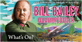 Bill Bailey - Qualmpeddler Tour Wellington