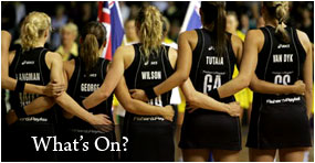 New Zealand Netball - Silver Ferns v Australia