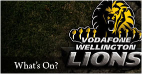 2011 ITM Cup Rugby Season - Vodafone Wellington Lions